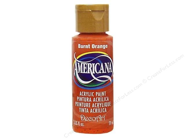 DecoArt Americana Acrylic Paint 2 oz. #016 Burnt Orange