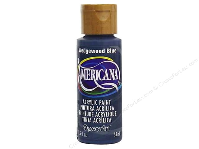 DecoArt Americana Acrylic Paint 2 oz. #038 Wedgewood Blue