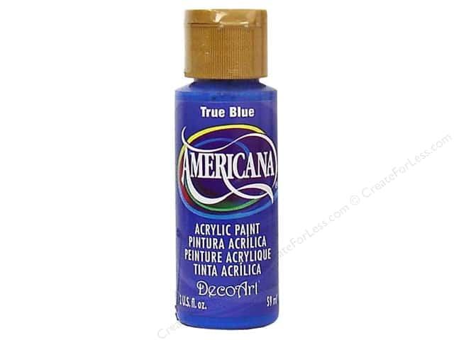 DecoArt Americana Acrylic Paint 2 oz. #036 True Blue