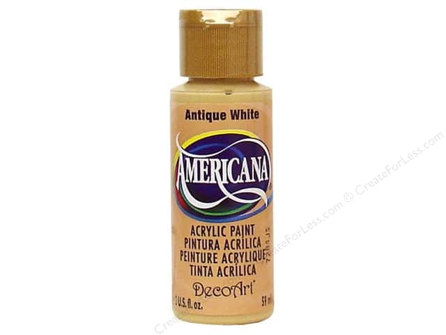 DecoArt Americana Acrylic Paint 2 oz. #058 Antique White