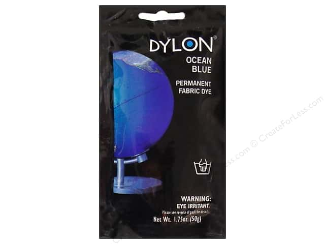 Dylon Permanent Fabric Dye 1.75 oz. Ocean Blue