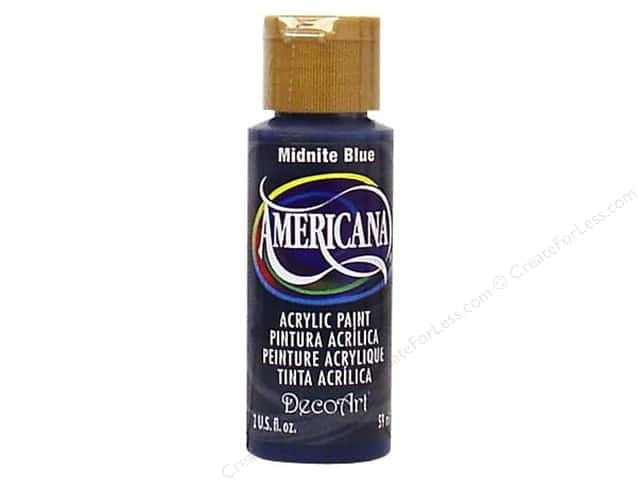 DecoArt Americana Acrylic Paint 2 oz. #85 Midnight Blue