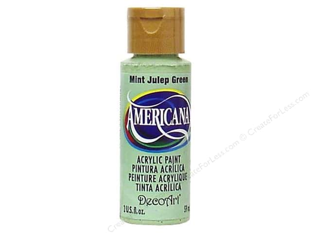 DecoArt Americana Acrylic Paint 2 oz. #45 Mint Julep Green