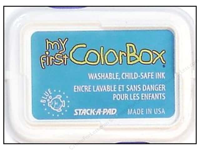 My First ColorBox Dye Ink Pad Blue