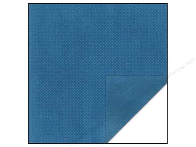 Bo Bunny 12 x 12 in. Paper Double Dot Collection Dark Denim Dot (25 sheets)