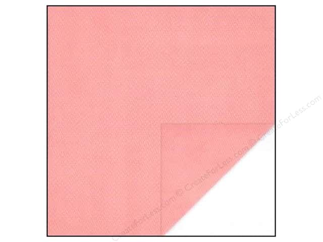 Bo Bunny 12 x 12 in. Paper Double Dot Collection Coral Dot (25 sheets)