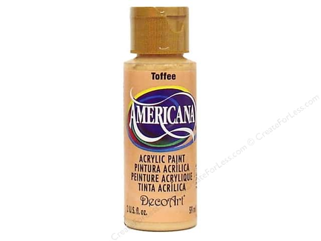 DecoArt Americana Acrylic Paint 2 oz. #059 Toffee