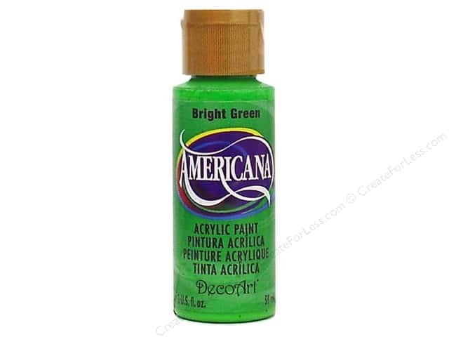DecoArt Americana Acrylic Paint 2 oz. #054 Bright Green
