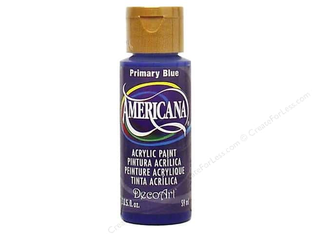 DecoArt Americana Acrylic Paint 2 oz. #200 Primary Blue