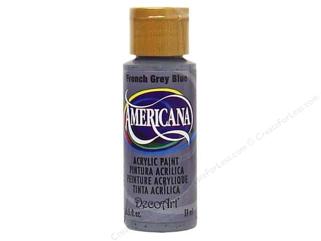 DecoArt Americana Acrylic Paint 2 oz. #098 French Grey Blue