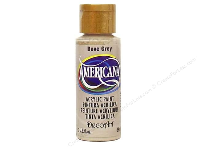DecoArt Americana Acrylic Paint 2 oz. #069 Dove Grey