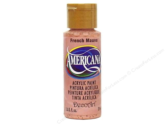 DecoArt Americana Acrylic Paint 2 oz. #186 French Mauve