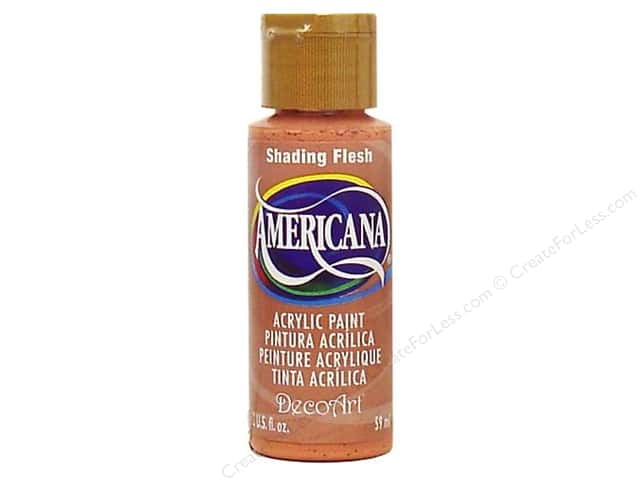 DecoArt Americana Acrylic Paint 2 oz. #137 Shading Flesh