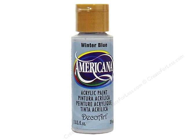 DecoArt Americana Acrylic Paint 2 oz. #190 Winter Blue