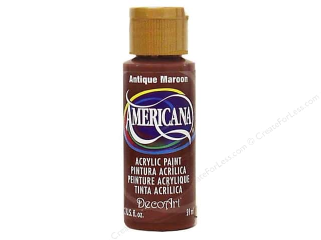DecoArt Americana Acrylic Paint 2 oz. #160 Antique Maroon