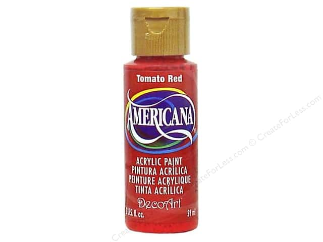 DecoArt Americana Acrylic Paint 2 oz. #169 Tomato Red