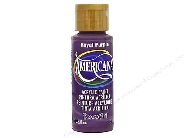 DecoArt Americana Acrylic Paint 2 oz. #150 Royal Purple