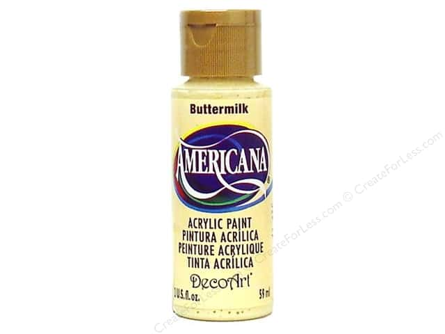 DecoArt Americana Acrylic Paint 2 oz. #03 Buttermilk