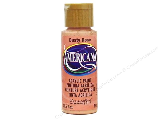 DecoArt Americana Acrylic Paint 2 oz. #025 Dusty Rose