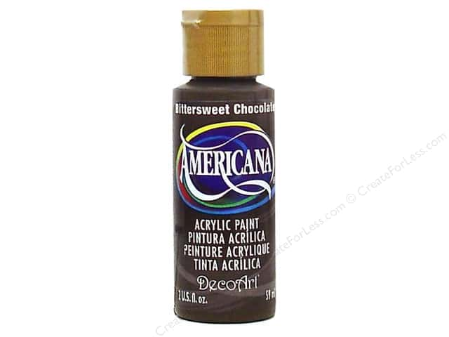DecoArt Americana Acrylic Paint 2 oz. #195 Bittersweet Chocolate