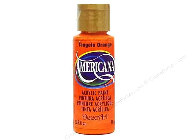 DecoArt Americana Acrylic Paint 2 oz. #196 Tangelo Orange
