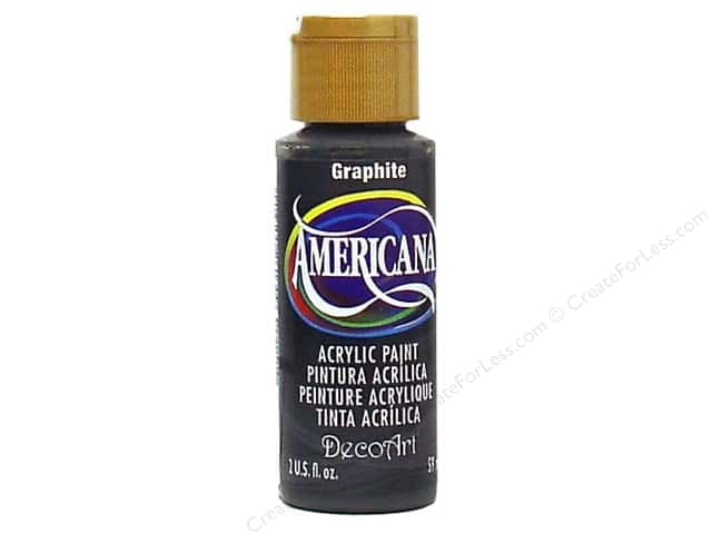 DecoArt Americana Acrylic Paint 2 oz. #161 Graphite