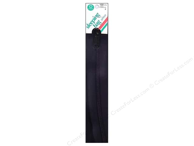 Coats Sleeping Bag Zipper 100 in. Black