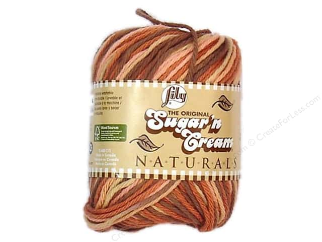 Lily Sugar 'n Cream Yarn  2 oz. #2017 Naturals Desert Rising