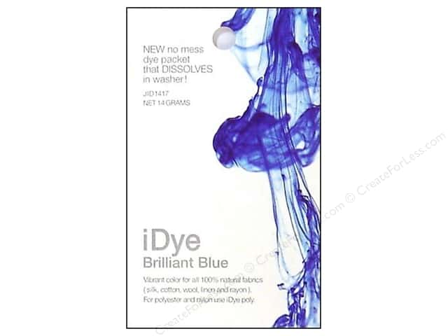 Jacquard iDye for Natural Fabrics Brilliant Blue