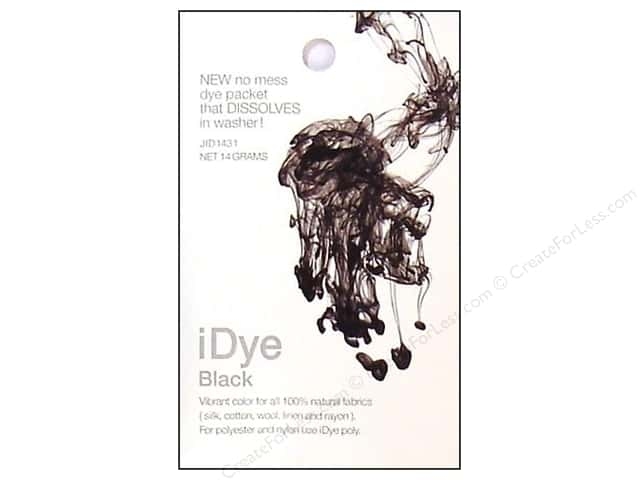 Jacquard iDye for Natural Fabrics Black