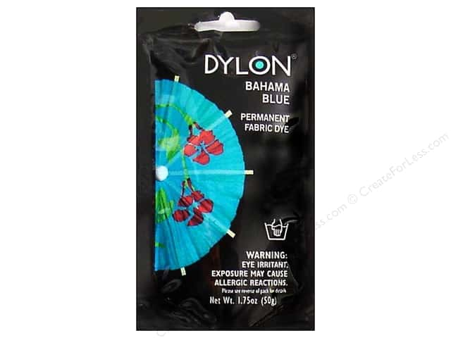 Dylon Permanent Fabric Dye 1.75 oz. Bahama Blue