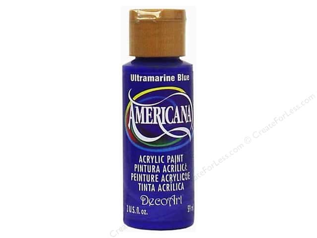 DecoArt Americana Acrylic Paint 2 oz. #225 Ultramarine Blue
