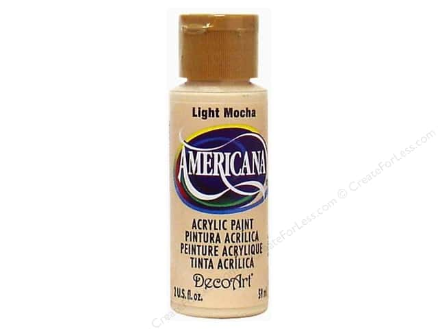 DecoArt Americana Acrylic Paint 2 oz. #241 Light Mocha