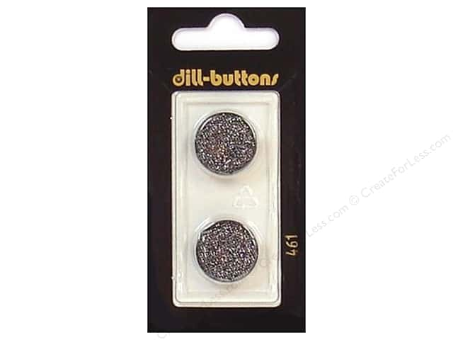 Dill Shank Buttons 11/16 in. Black #461 2pc.