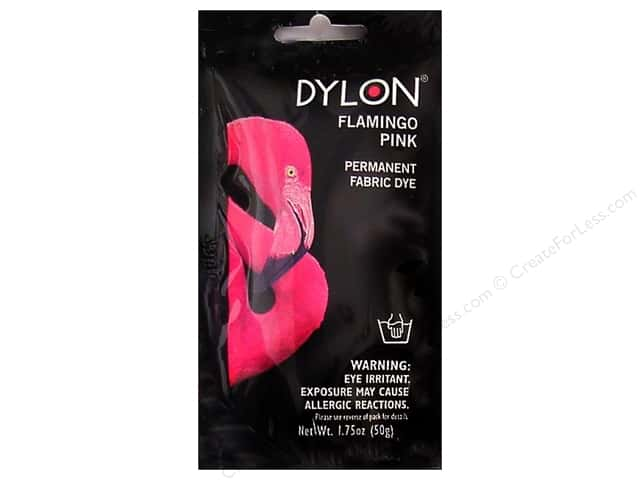 Dylon Permanent Fabric Dye 1.75 oz. Flamingo Pink