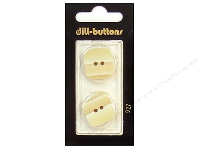 Dill 2 Hole Buttons 7/8 in. Beige #927 2pc.