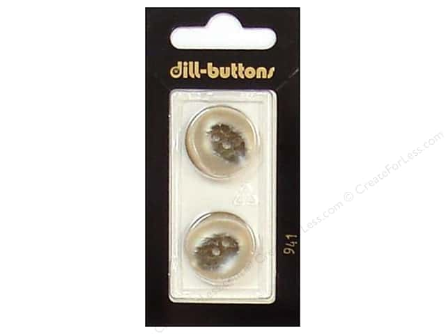 Dill 2 Hole Buttons 13/16 in. Beige #941 2pc.