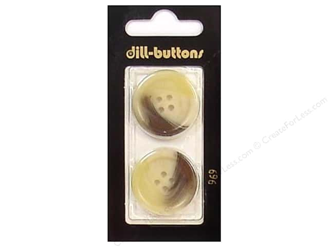 Dill 4 Hole Buttons 1 in. Beige #969 2pc.