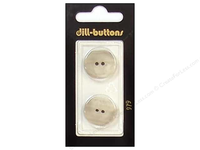 Dill 4 Hole Buttons 13/16 in. Beige #979 2pc.