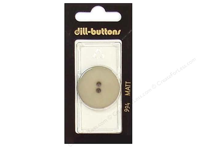 Dill 2 Hole Buttons 1 1/8 in. Beige #994 1 pc.