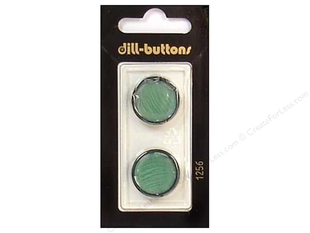Dill Shank Buttons 13/16 in. Dark Green #1256 2pc.