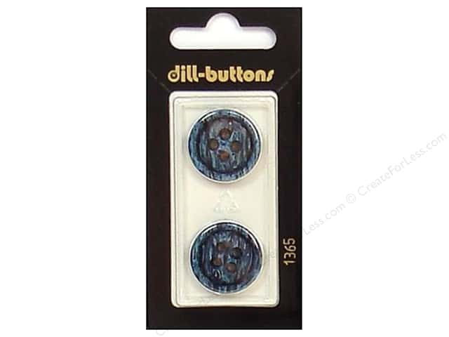 Dill 4 Hole Buttons 13/16 in. Navy #1365 2 pc.
