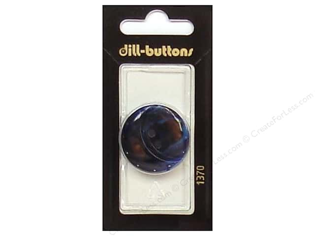 Dill Buttons 1 1/8 in. Navy #1370 1pc.