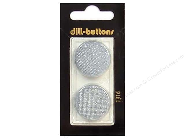 Dill Shank Buttons 1 in. Light Blue #1316 2pc.