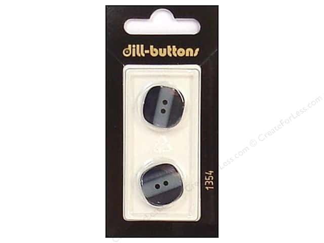 Dill 2 Hole Buttons 11/16 in. Navy #1354 2pc.
