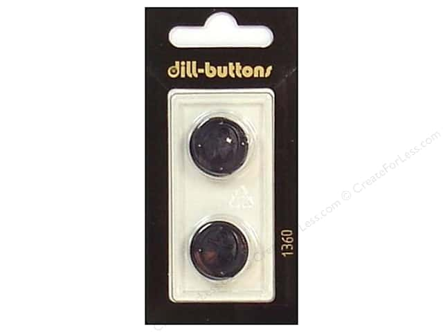 Dill Shank Buttons 11/16 in. Navy #1360 2pc.