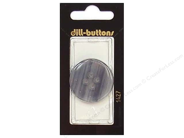 Dill 4 Hole Buttons 1 1/4 in. Blue #1427 1pc.