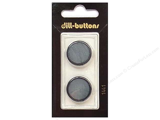 Dill Shank Buttons 13/16 in. Blue #1441 2 pc.