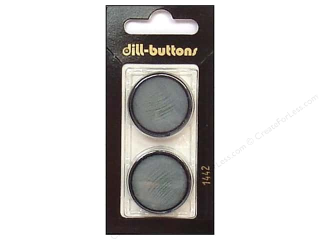 Dill Shank Buttons 1 in. Blue #1442 2pc.