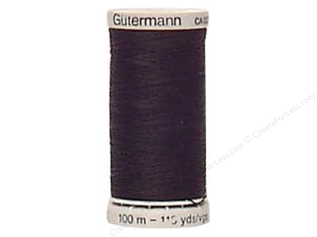Gutermann Extra Strong Polyester Upholstery Thread 109 yd. Black